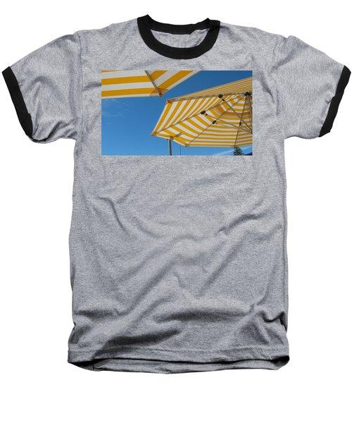 Yellow Umbrella Baseball T-Shirt