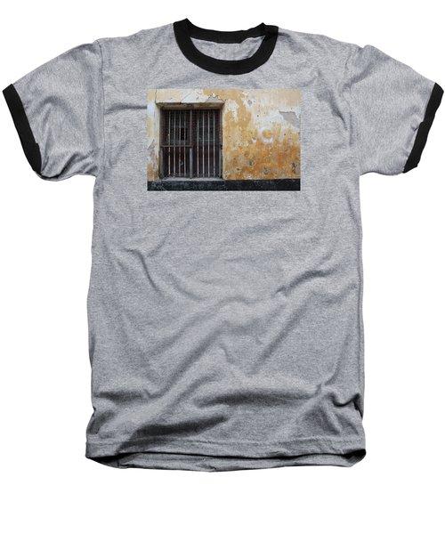 Yellow Wall, Gated Door Baseball T-Shirt