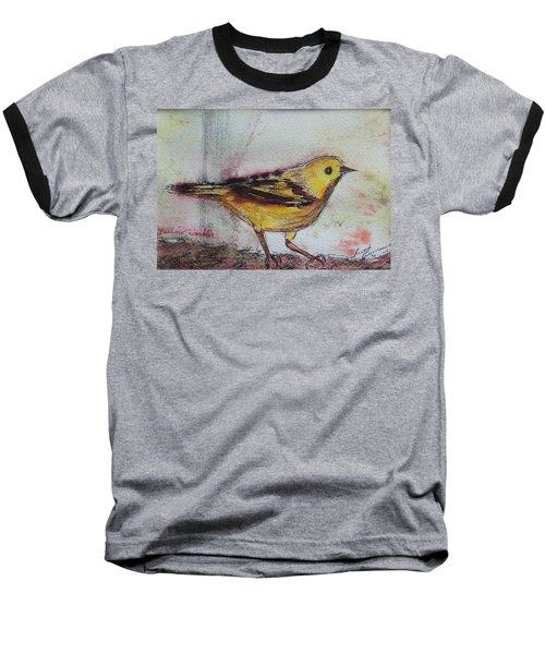Yellow Warbler Baseball T-Shirt
