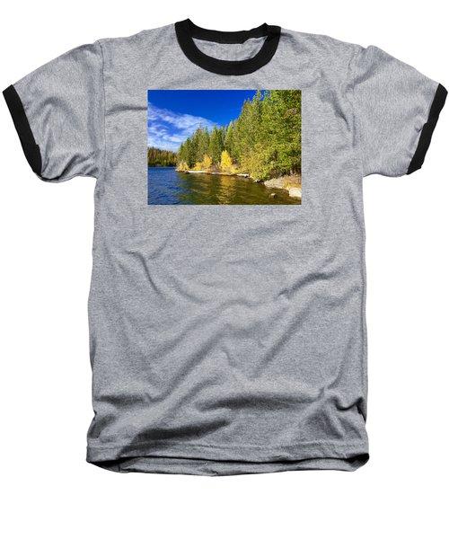 Golden Waters Baseball T-Shirt by Jennifer Lake