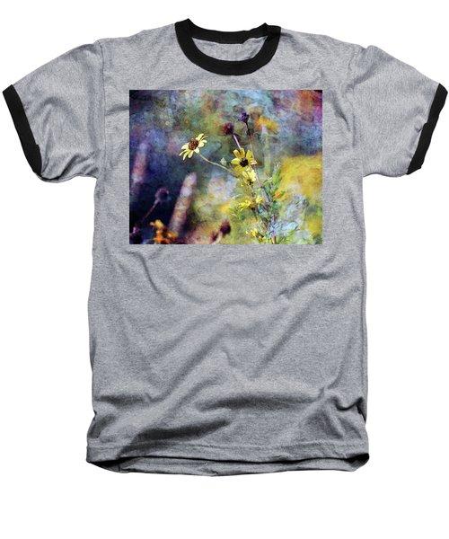 Yellow Wildflowers 3230 Idp_2 Baseball T-Shirt