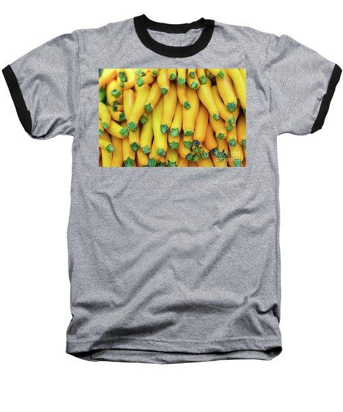Yellow Zucchini Baseball T-Shirt