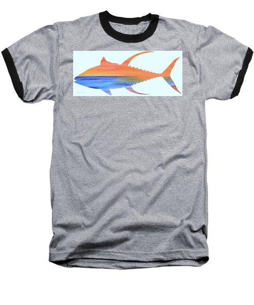 Yellowfin Sunset Beach Baseball T-Shirt