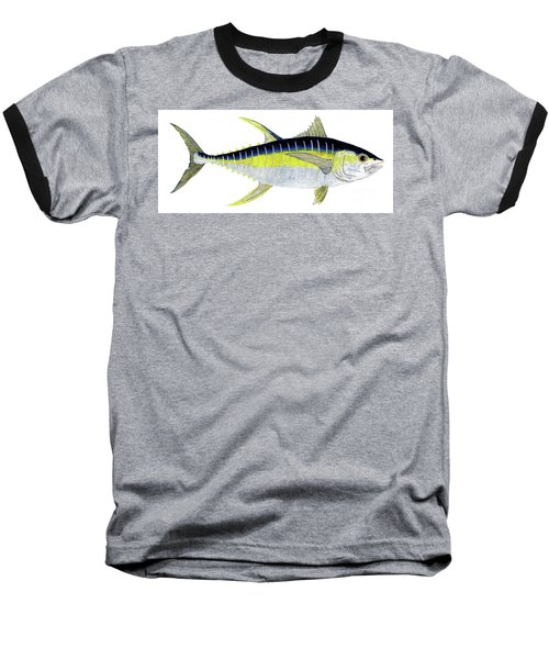 Yellowfin Tuna Baseball T-Shirt