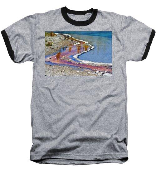 Yellowstone Abstract I Baseball T-Shirt