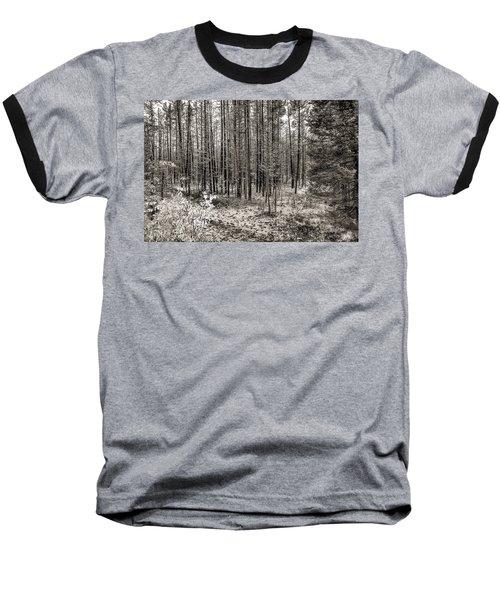 Yellowstone Fire Burn Scar Baseball T-Shirt