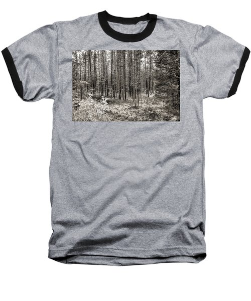 Yellowstone Fire Burn Scar Baseball T-Shirt