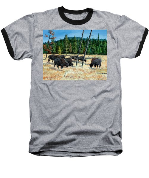 Yellowstone Grazers Baseball T-Shirt