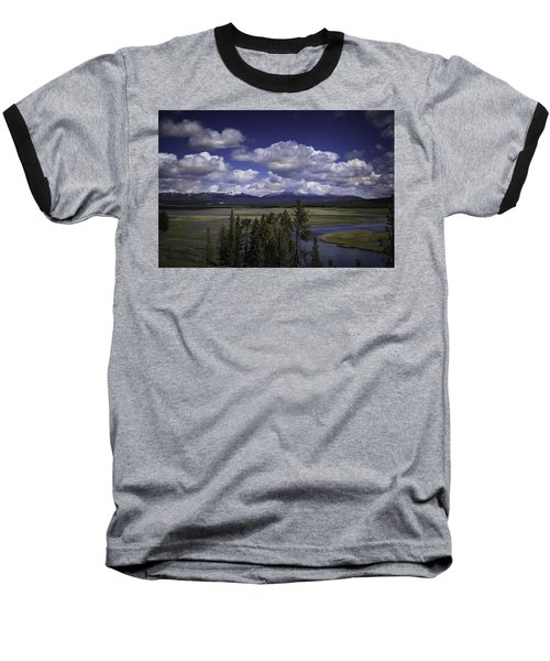 Baseball T-Shirt featuring the photograph Yellowstone River by Jason Moynihan