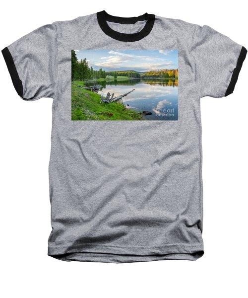 Yellowstone River Off Grand Loop Baseball T-Shirt