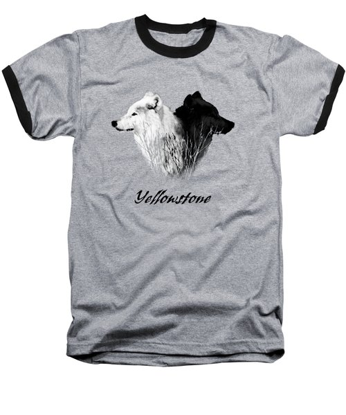 Yellowstone Wolves T-shirt Baseball T-Shirt