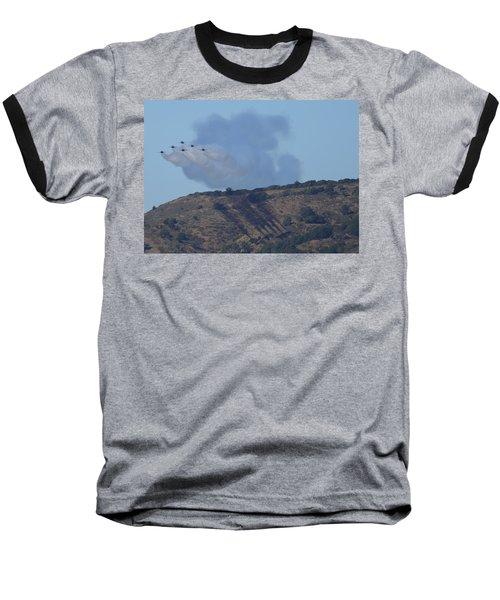 Yes Baby, Angels Do Make Shadows Baseball T-Shirt
