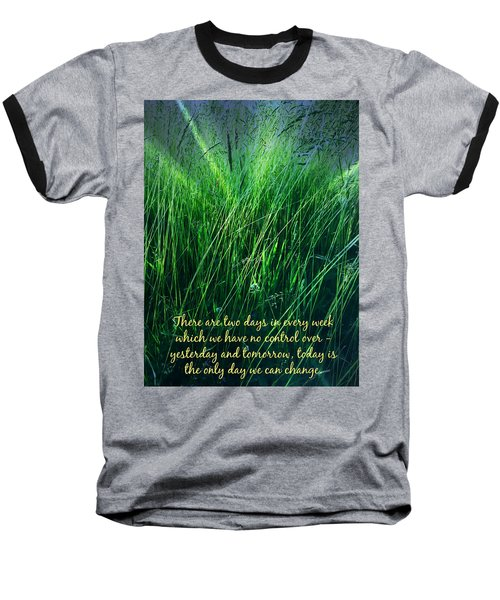 Yesterday And Tomorrow Baseball T-Shirt