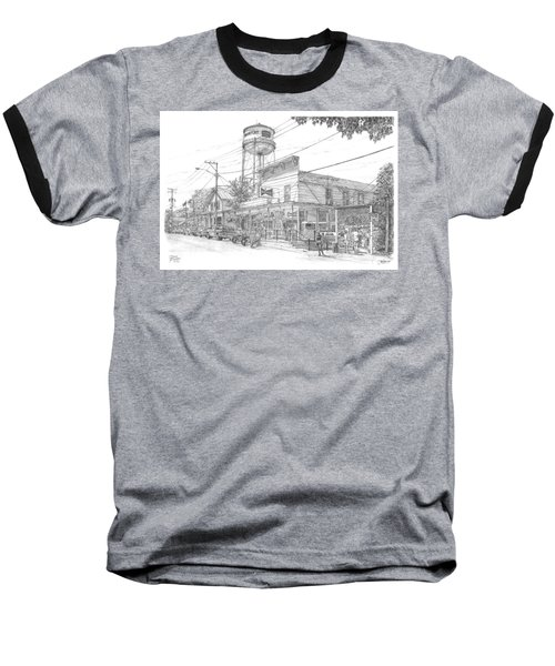 Yesterday Today Baseball T-Shirt by Doug Kreuger