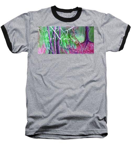 Yesterday's Dream Baseball T-Shirt by Susan DeLain