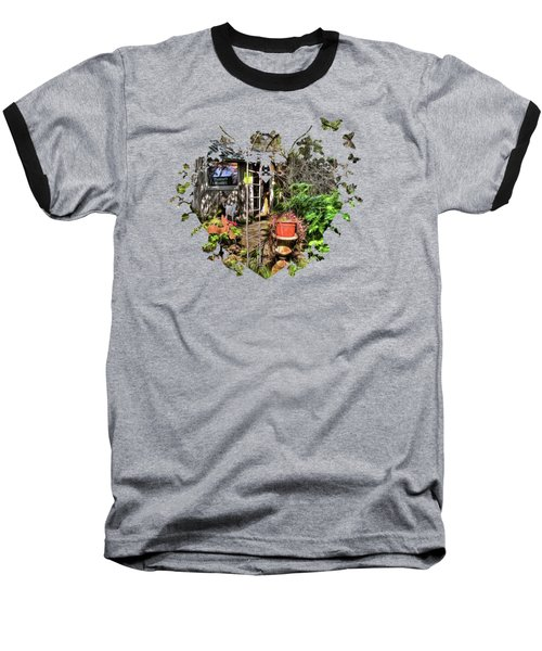 Yesterdays Memories Baseball T-Shirt by Thom Zehrfeld