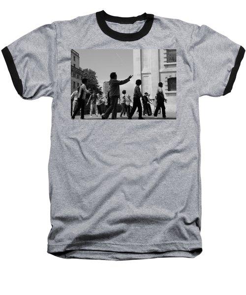 Yin And Yang Baseball T-Shirt