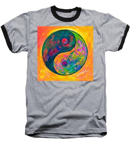 Yin Yang Flow Baseball T-Shirt