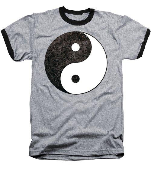 Yin Yang Symbol Baseball T-Shirt