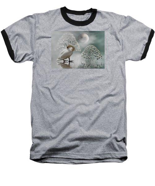 Yinyang - Moon Baseball T-Shirt