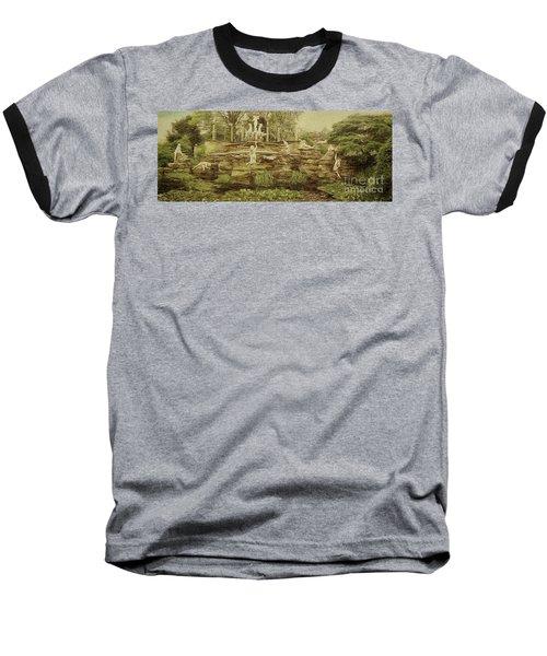 York House Gardens Statues - Twickenham Baseball T-Shirt