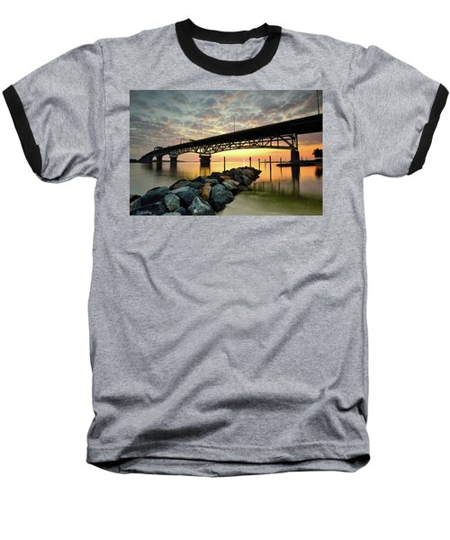 York River Sunrise Baseball T-Shirt
