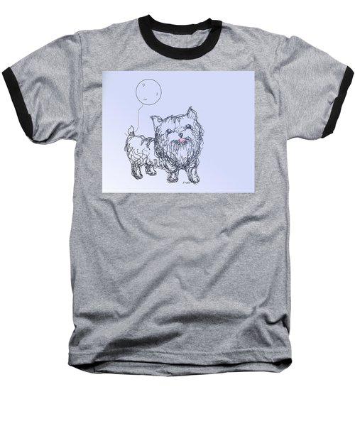 Yorkie Baseball T-Shirt