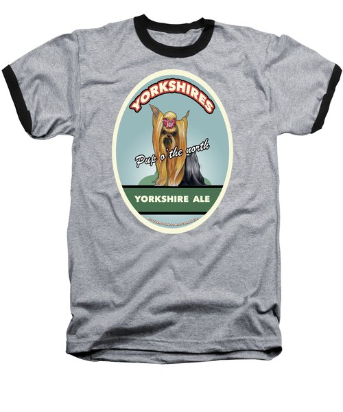 Yorkshire Ale Baseball T-Shirt