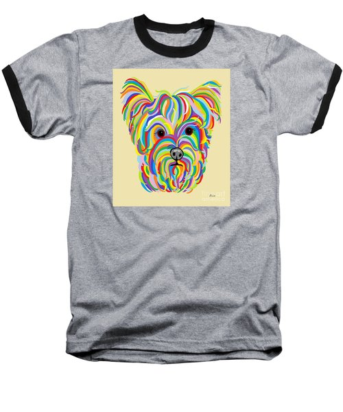 Yorkshire Terrier ... Yorkie Baseball T-Shirt