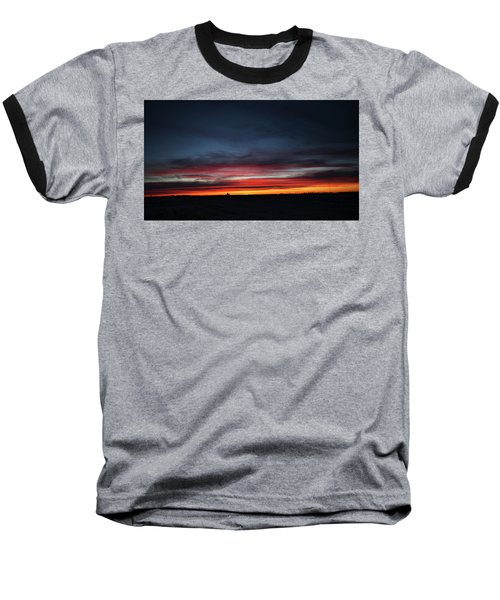 Yorkton Sunrise Baseball T-Shirt by Ryan Crouse