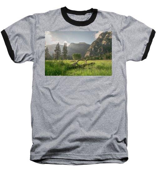 Sundown On The Valley Baseball T-Shirt