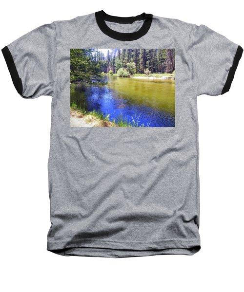 Yosemite River Baseball T-Shirt