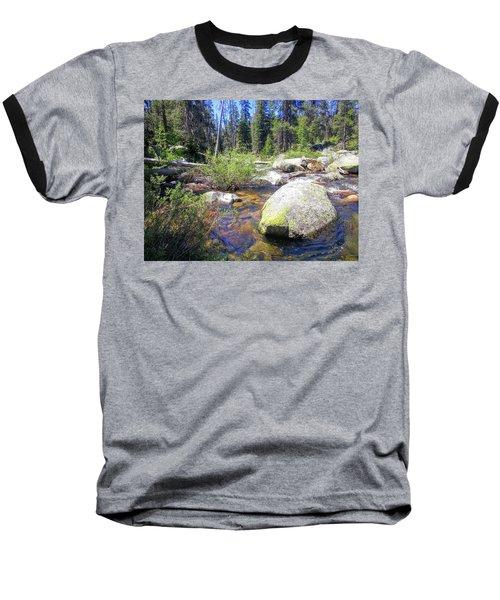 Yosemite Hidden Stream Baseball T-Shirt
