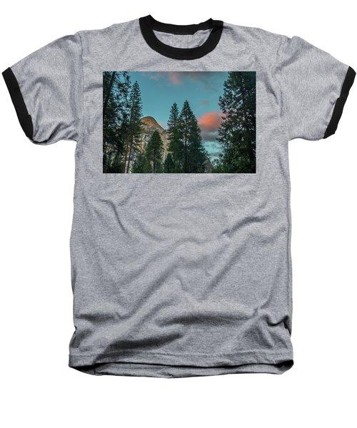 Yosemite Campside Evening Baseball T-Shirt