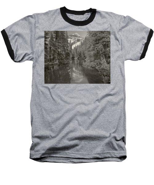 Yosemite Hike  Pictorial Baseball T-Shirt