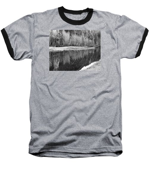 Yosemite  Baseball T-Shirt by Lora Lee Chapman