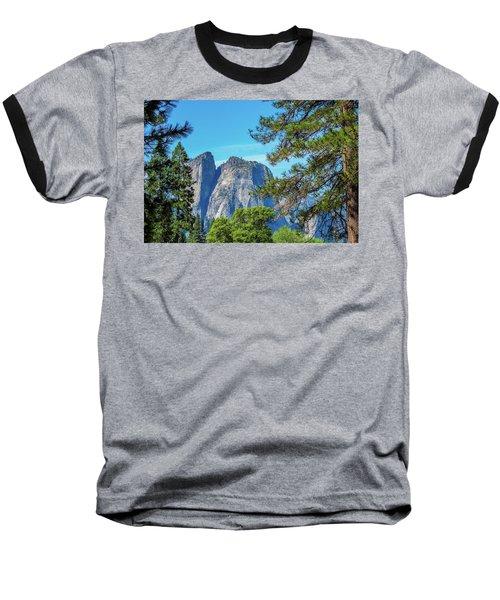 Yosemite Morning Baseball T-Shirt