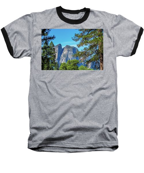 Yosemite Morning Baseball T-Shirt