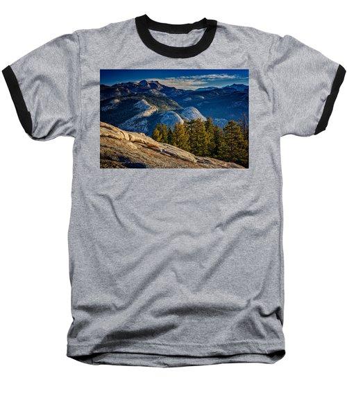 Yosemite Morning Baseball T-Shirt by Rick Berk