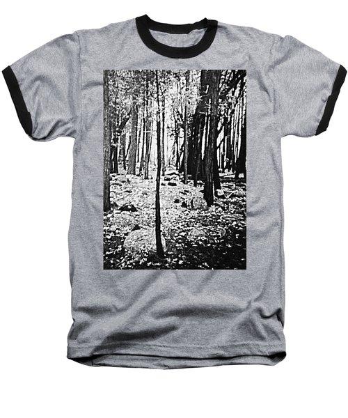 Yosemite National Park Baseball T-Shirt