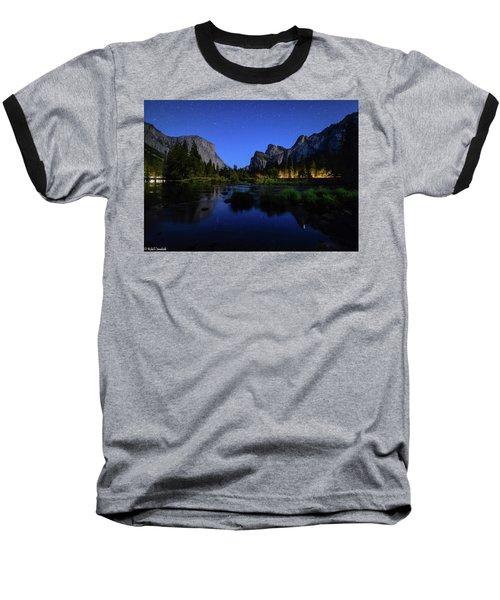 Yosemite Nights Baseball T-Shirt