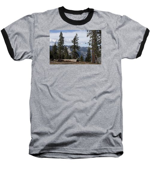 Baseball T-Shirt featuring the photograph Yosemite Park by Ivete Basso Photography