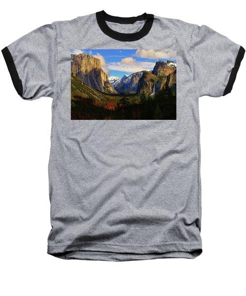 Yosemite Valley Baseball T-Shirt