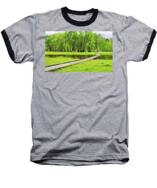 Yosemite Valley Baseball T-Shirt