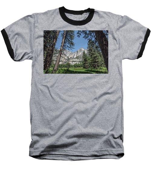 Yosemite View 13 Baseball T-Shirt