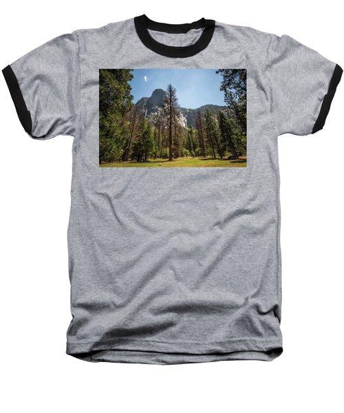 Yosemite View 18 Baseball T-Shirt
