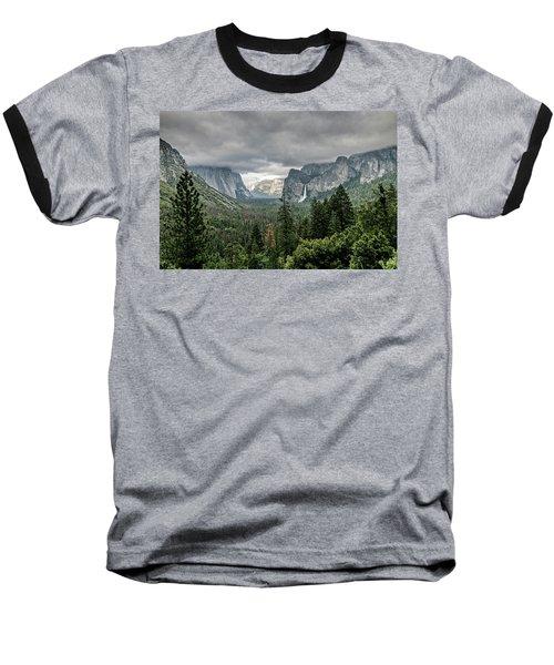 Yosemite View 36 Baseball T-Shirt