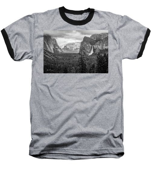 Yosemite View 38 Baseball T-Shirt
