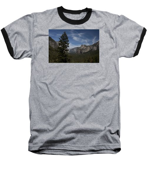 Yosemite View Baseball T-Shirt by Ivete Basso Photography