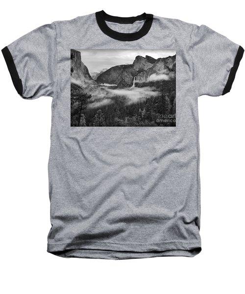 Baseball T-Shirt featuring the photograph Yosemite Wawona Cloudscape by Martin Konopacki
